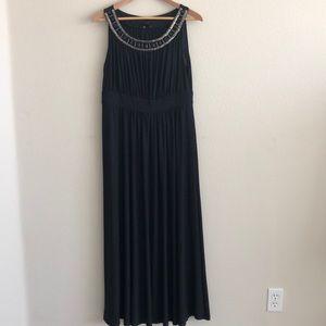EUC Wedding Guest Black Dress SZ XL